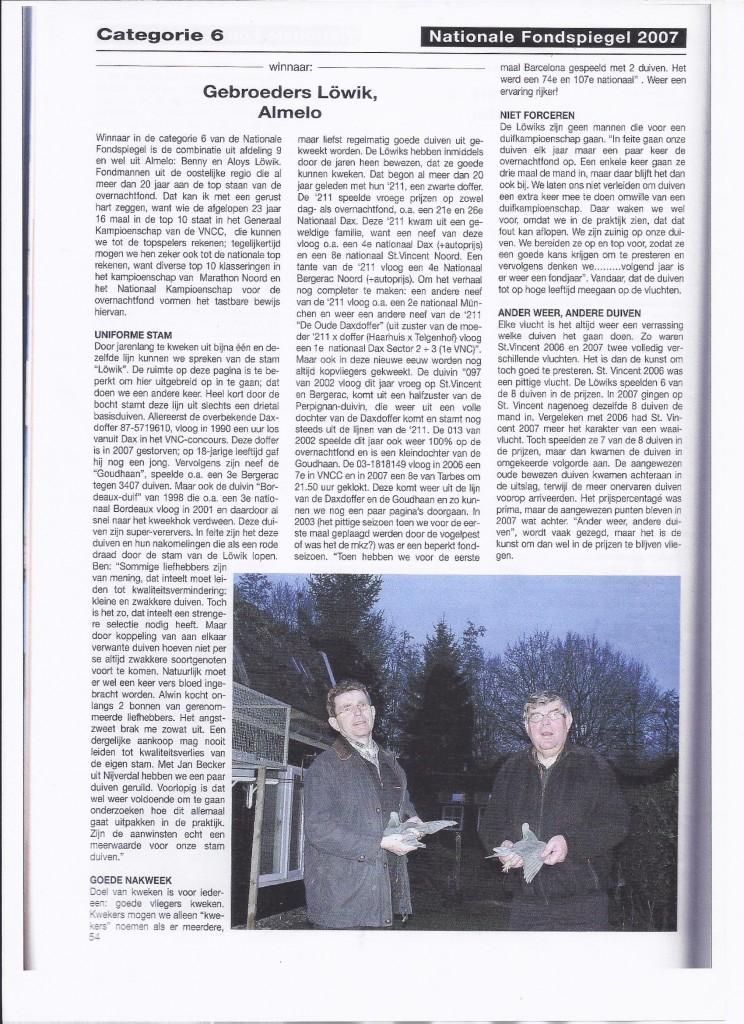 reportage Fondspiegel 2007